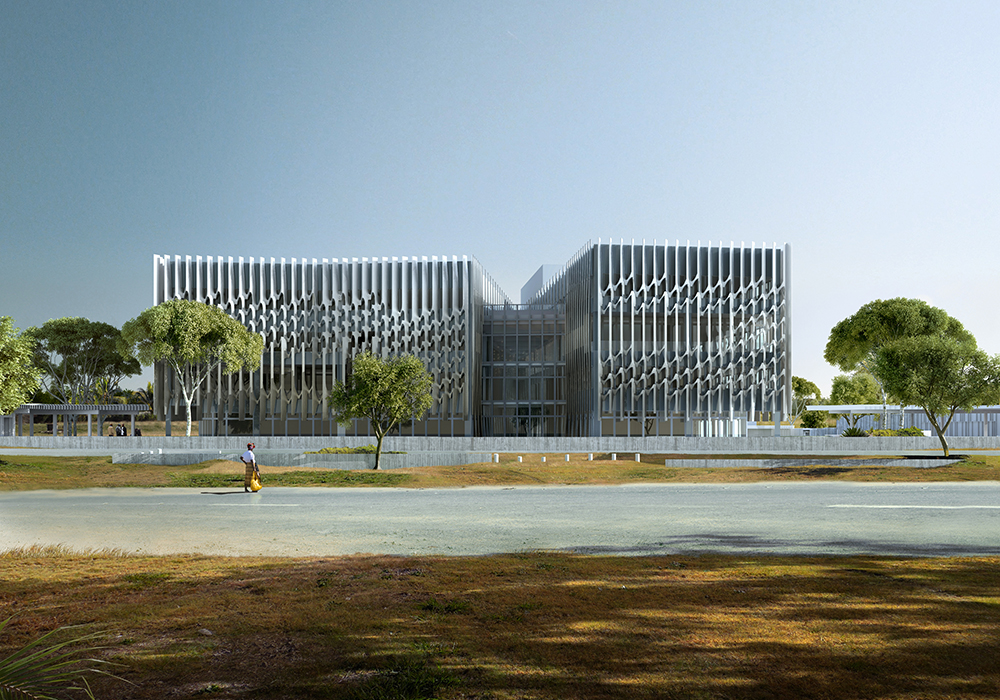 Bureau sla s learning centre uses sustainable building methods