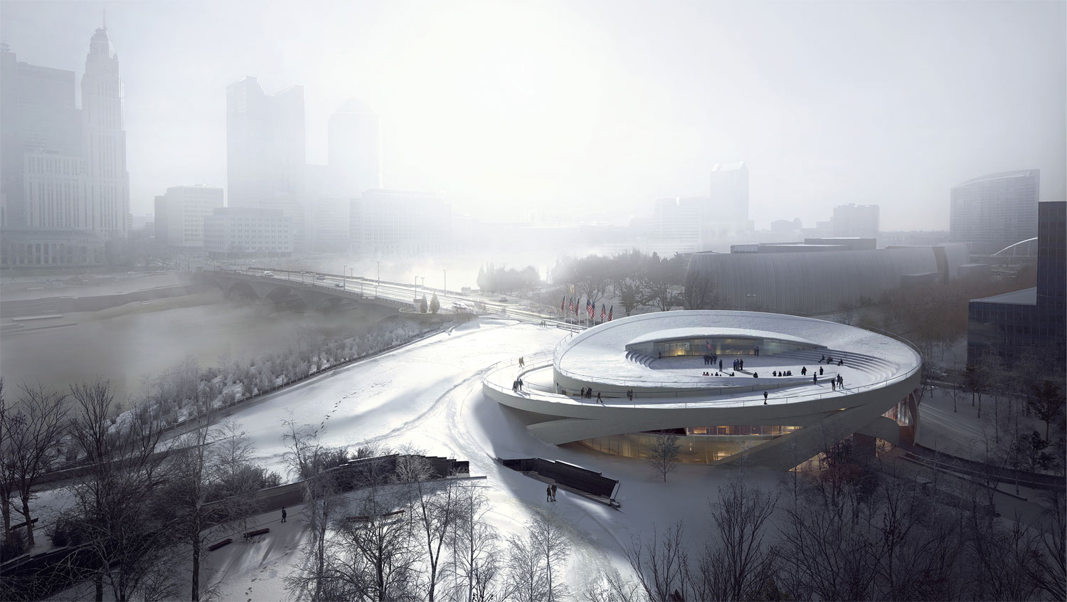 National veterans memorial and museum allied works for Oh design
